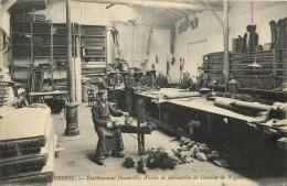 Réf : A14 -1062  : Chemin De Fer  Etablissement Decauville Atelier De Fabrication De Coussins De Wagon à Corbeil - Corbeil Essonnes