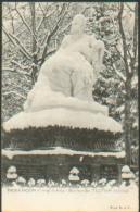 1870-France 25-Besancon-Statue De Victor Hugo-Besancon En Temps De Neige-Photo D Et M - Besancon