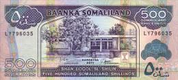 SOMALILAND  500 Shillings  Emission De 2011    Pick 6x      ***** BILLET  NEUF ***** - Somalia