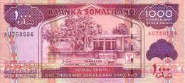 SOMALILAND  1 000 Shillings  Emission De 2011    ***** BILLET  NEUF ***** - Somalia
