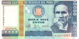 PEROU  10 000 Intis  Daté Du 28 Juin 1988    Pick 141        ***** BILLET  NEUF ***** - Pérou