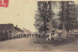 23121 MARVILLE MOUTIER BRULE Place De La Route -ed Loiseau -vache Toilée