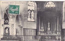 23123  MARVILLE MOUTIER BRULE Interieur Eglise -photo Emile Marneur Coudres - Non Classés