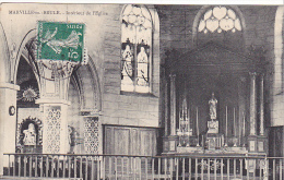 23123  MARVILLE MOUTIER BRULE Interieur Eglise -photo Emile Marneur Coudres