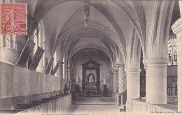 23124  MARVILLE MOUTIER BRULE Interieur Eglise -bas Coté Lateraux -éd Foucault Dreux - France