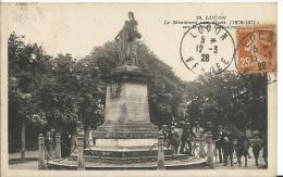 85 - VENDEE - LUCON - Le Monument Aux Morts - Lucon