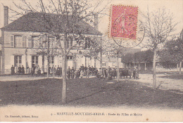 23125  MARVILLE MOUTIER BRULE Ecole De Filles Et Mairie - 4 -éd Foucault Dreux