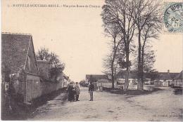 23127  MARVILLE MOUTIER BRULE Perspective De La Route DeDreux -ed Foucault Dreux - - France