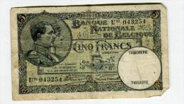5 FRANCS 1931 TB 6 - [ 2] 1831-... : Belgian Kingdom