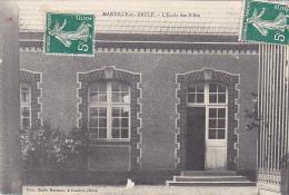 23130  MARVILLE MOUTIER BRULE Ecole Des Filles  -photo Emile Marneur Coudres - Non Classés