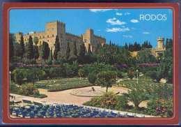 Griechenland, RODOS, Der Palast Der Ritter, Sondermarke - Griechenland