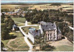 CPSM - GF - Fresneaux Montchevreuil (Oise) Vue Aérienne - Le Château - Unclassified