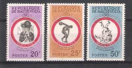 Republique De Haute Volta Y/T 110 / 112 (**) - Haute-Volta (1958-1984)