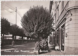 R10-879 - LAVENO - VIALE GARIBALDI - VARESE - F.G.  VG. A. '50 - Varese