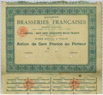 Sté Des Brasseries Françaises - Tourisme