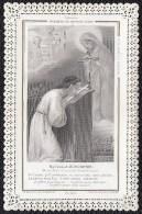 SANTINO - IMAGE PIEUSE LITHO DENTELEE  * MA CROIX D'AUJOURD'HUI * MARIE -  ANGES ! - Images Religieuses