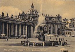 Italy Rome Roma Vaticano Piazza San Pietro e Fontana del Bernini