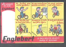 Buvard. Englebert Le Pneu Vélo De Sécurité Souple Et Resistant - Sports
