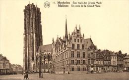 BELGIQUE - ANVERS - MECHELEN - MALINES - Een Hoek Der Groote Markt - Un Coin De La Grand´Place (11). - Malines