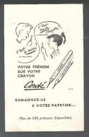 Buvard. Conté Votre Prénom Sur Votre Crayon Conté Demandez Le à Votre Papetier... - Papeterie