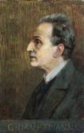 AK PERSÖNLICHKEITEN  Gerhart Hauptmann War Ein Deutscher Dramatiker Und Schriftsteller, Nobelpreis Für Literatur 1912 - Prix Nobel