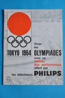 JEUX OLYMPIQUES TOKYO 1964 AVEC LES TELEVISEURS PHILIPS - Otros