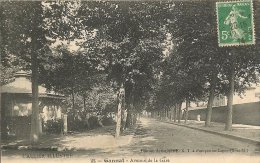 CPA-1910-03-GANNAT-AVENUE De La GARE-TBE - France