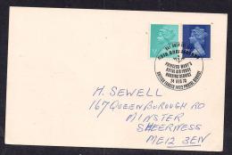 GB QE2 1973 Postcard Pmk 'Princess Mary's Raf Nursing Service Bfpo' ( T427 ) - Entiers Postaux