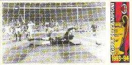 FIGURINA PANINI MILAN COPPA CAMPIONI 1962/63 FINALE - Sport
