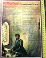 DOCUMENT ILLUSTRE SUR STRADIVARIUS - Old Paper