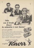 # BRODO KNORR UNILEVER Heilbronn Germany 1950s Advert Pubblicità Publicitè Reklame Food Broth Bouillon Broth Bruhe - Posters