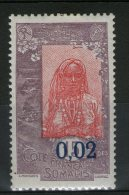 N° 109a*_papier Couché - Französich-Somaliküste (1894-1967)