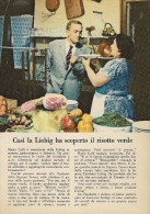 # LIEBIG TAVOLETTA 1950s Advert Pubblicità Publicitè Reklame Broth Bouillon Broth Bruhe Soup - Posters