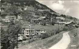 Leysin - 2 Scans  (VINTAGE POSTCARD) - VD Vaud