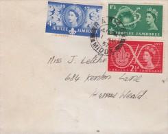 Great Britain - Letter Sent 1957 - 1952-.... (Elizabeth II)