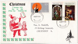 New Zealand 1970 Christmas FDC - FDC
