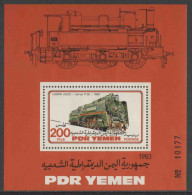 PDR Yemen / South Yemen 1983 B12 - Mi 323 ** Class P36 Locomotive (1950) Soviet Union - Railways - Treinen