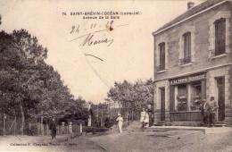 """St-Brévin-l'Océan..animée..avenue De La Gare..commerce..""""A La Petite Baigneuse"""" - Saint-Brevin-l'Océan"""