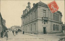 ALGERIE  SOUK AHRAS / La Justice De Paix Et La Rue Laurent-Bois / - Souk Ahras