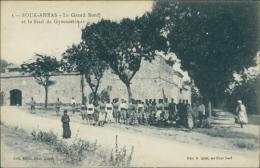 ALGERIE  SOUK AHRAS / Le Grand Bord Et Le Stade De Gymnastique / - Souk Ahras