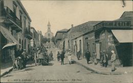 ALGERIE  SOUK AHRAS / La Rue De Madaure Et L'Eglise / - Souk Ahras
