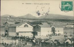 ALGERIE  TEBESSA / Halle Aux Grains Et Marché / - Tébessa