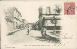 ALGERIE  TIARET / Rue Principale Et Hôtel D'Orient / - Tiaret