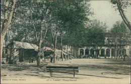 ALGERIE  TIARET / Place Carnot / CARTE COULEUR - Tiaret