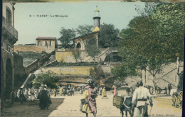 ALGERIE  TIARET / La Mosquée / CARTE COULEUR - Tiaret