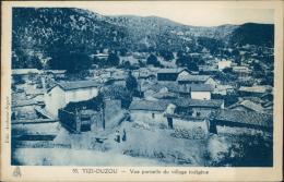 ALGERIE  TIZI OUZOU / Vue Partielle Du Village Indigène / - Tizi Ouzou
