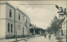 ALGERIE  TIZI OUZOU / Boulevard Bugeaud Et La Nouvelle Ecole Maternelle / - Tizi Ouzou