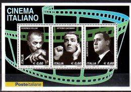 2010 Italy / Italien - Italian Film Makers - MS Paper MNH** - Cinéma