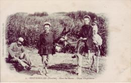 85 - VENDEE - Brétignolles - Dans Les Dunes. Leçon D'équitation - Carte Animée - - Bretignolles Sur Mer