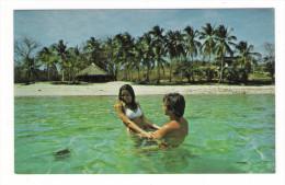 PANAMA  /  ISLA  CONTADORA  ( Touristes Américains, Palmiers, Plage, Top-model, Paillote ) - Panama